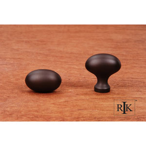 Oil Rubbed Bronze Football Knob