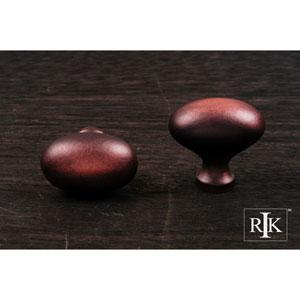 Distressed Copper Oval Knob