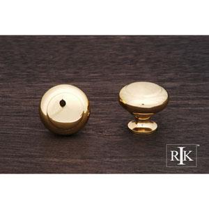 Polished Brass Hollow Two-Step Knob