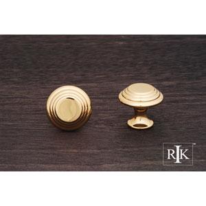 Polished Brass Step Up Beauty Knob