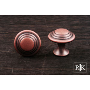 Distressed Copper Step Up Beauty Knob
