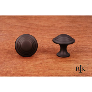 Oil Rubbed Bronze Step Up Beauty Knob