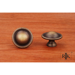 Antique English Smooth Dome Knob