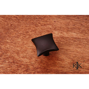 Oil Rubbed Bronze Plain Knob with Four Curves