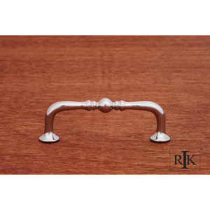 Chrome Decorative Elongated Colonial Pull