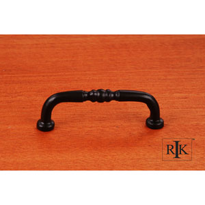 Black Decorative Curved Pull