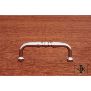 Chrome Decorative Curved Pull