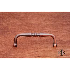 Antique Copper Decorative Curved Pull