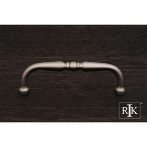 Pewter Decorative Curved Pull