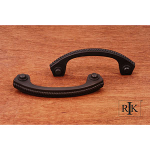Oil Rubbed Bronze Rope Bow Pull