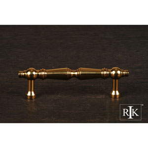 Polished Brass Plain Tapered Pull