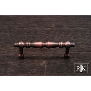 Distressed Copper Plain Tapered Pull