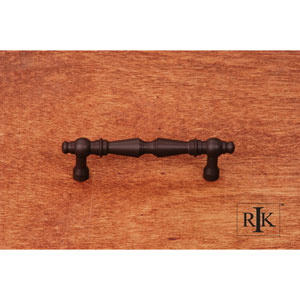 Oil Rubbed Bronze Plain Tapered Pull