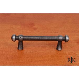 Distressed Nickel Distressed Decorative Rod Pull