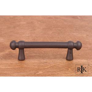 Oil Rubbed Bronze Distressed Decorative Rod Pull