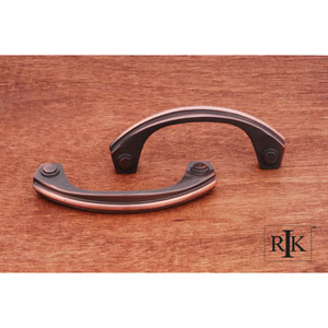 Antique Copper Plain Bow Pull