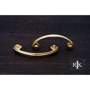 Polished Brass Plain Bow Pull