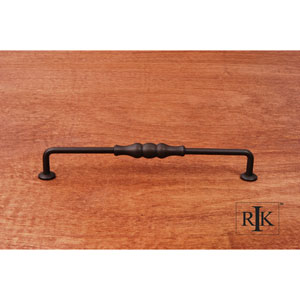 Oil Rubbed Bronze Beaded Middle Vertical Pull