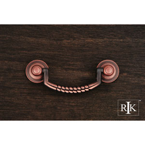 Distressed Copper Split Rope Bail Pull