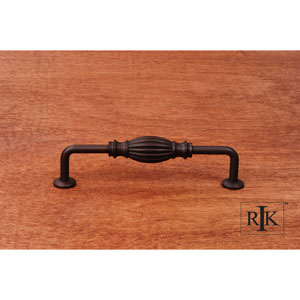 Oil Rubbed Bronze Indian Drum Vertical Pull