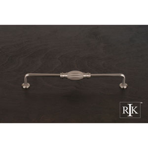 Pewter Indian Drum Vertical Pull