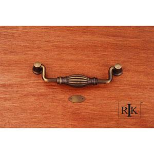Antique English Indian Drum Hanging Pull
