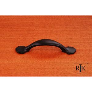 Black Ornate Foot Bow Pull