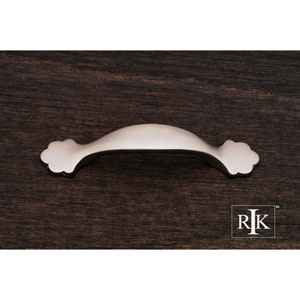 Pewter Ornate Foot Bow Pull