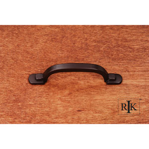 Oil Rubbed Bronze Two Step Foot Rectangular Pull