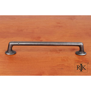 Distressed Nickel Distressed Rustic Pull
