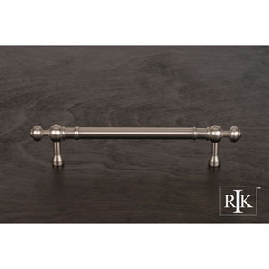 Pewter Plain Pull with Decorative Ends