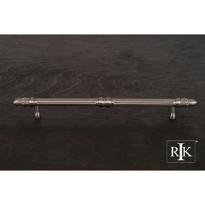 Pewter Lined Rod Pull with Petals at End