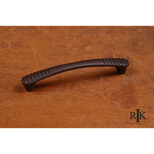 Oil Rubbed Bronze Ridges at Edge Pull