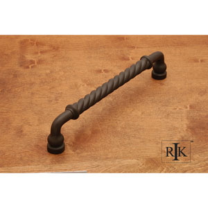 Oil Rubbed Bronze Twisted Door Pull