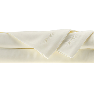 Ivory Rayon from Bamboo King Sheet Set