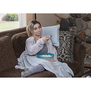 Sky Rayon from Bamboo Travel Pillowcase