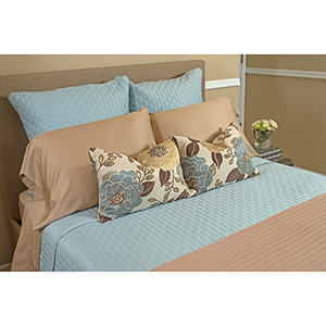 Champagne Rayon from Bamboo Full/Standard Pillowcase Set