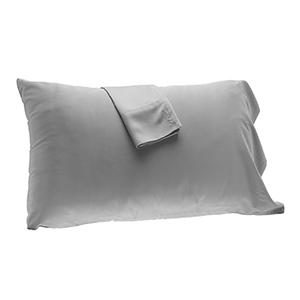 Platinum Rayon from Bamboo Full/Standard Pillowcase Set