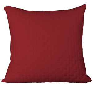 Cayenne Rayon from Bamboo Quilted Euro Sham