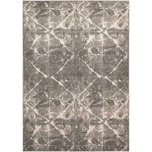Gradient Shibori Granite Rectangular: 8 Ft. 6 In. x 11 Ft. 6 In. Rug