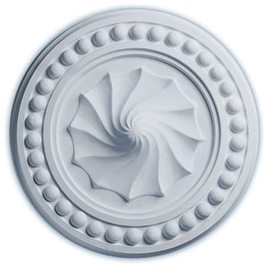 Foster Shell Ceiling Medallion