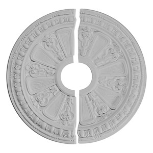 Raymond Ceiling Medallion, Two Pieces