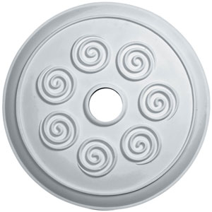 Spiral Ceiling Medallion