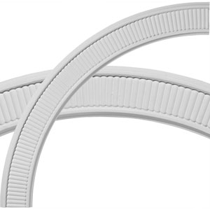 Nevio Ceiling Ring, 1/4 of Complete Circle