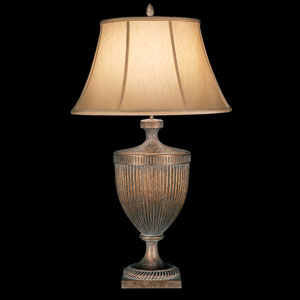 Verona One-Light Table Lamp in Veronese Gold Finish