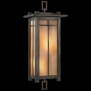 Capistrano Two-Light Outdoor Wall Sconce in Warm Bronze Patina Finish