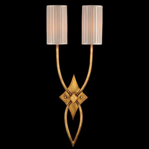 Portobello Road Two-Light Wall Sconce in Dore Finish