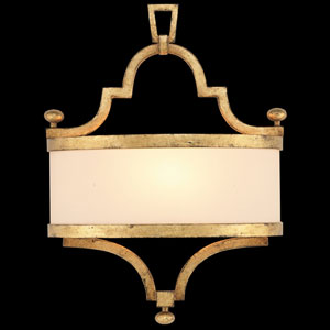 Portobello Road One-Light Coupe Wall Sconce in Dore Finish