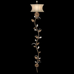 A Midsummers Nights Dream One-Light Wall Sconce in Cool Moonlit Patina Finish
