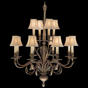 Verona 12-Light Chandelier in Veronese Gold Finish